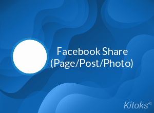Facebook Share (Page/Post/Photo) - 250 Facebook Shares